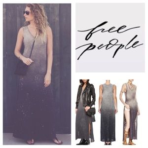 Free People Galaxy Ombré Maxi Dress.  NWT.